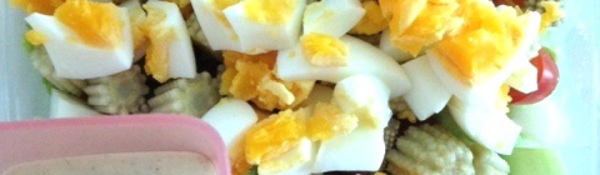 egg and corn salad