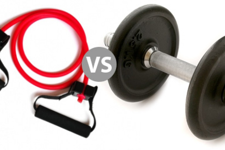 resistance-band-vs-dumbbell